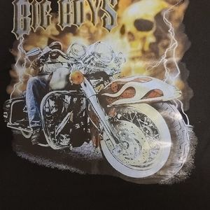Gildan Shirts - Mens xl black biker theme motorcycle Harley